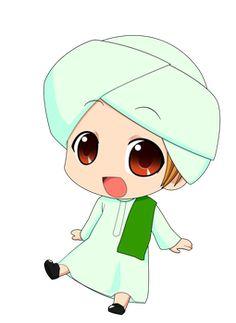 Chibi Muslimin 2 by on DeviantArt Student Cartoon, Cartoon Kids, Cartoon Images, Girl Cartoon, Cartoon Drawings, Cartoon Clip, Chibi Boy, Cute Chibi, Anime Chibi
