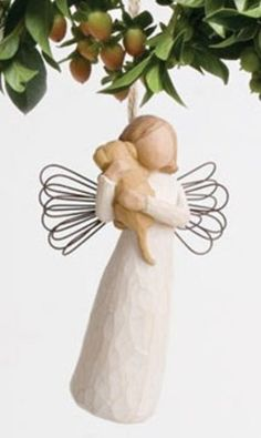 Willow Tree Angel of Friendship Ornament, 26043