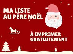 Ma liste au Père Noël à imprimer gratuitement pour vos enfants Movie Posters, Movies, Winter, Children, Films, Film Poster, Cinema, Movie, Film