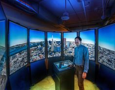 Google Earth Holodeck (Google Headquarters)