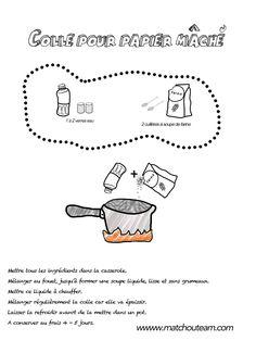 recette de la colle a base de farine