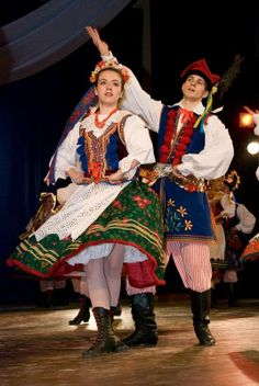 "Costume of western Krakow region, or the ""Krakowiak"". Often considered the national costume of Poland."