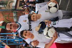 La alcaldía de Itagüí hace entrega de implementos deportivos a más de 5000 niños y niñas de nuestra ciudad que hacen parte de las escuelas sociodeportivas del Real Madrid