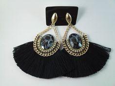 Green Tassel Earrings, Bead Earrings, Piercing, Lady M, Soutache Jewelry, Doll Tutorial, Diy Accessories, Beaded Embroidery, Tassels