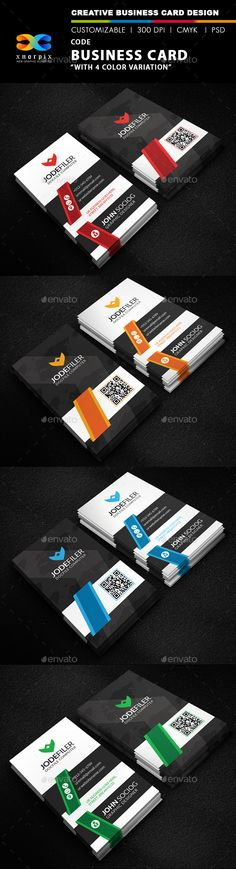 Code Business Card Template PSD | Buy and Download: http://graphicriver.net/item/code-business-card/9858510?ref=ksioks