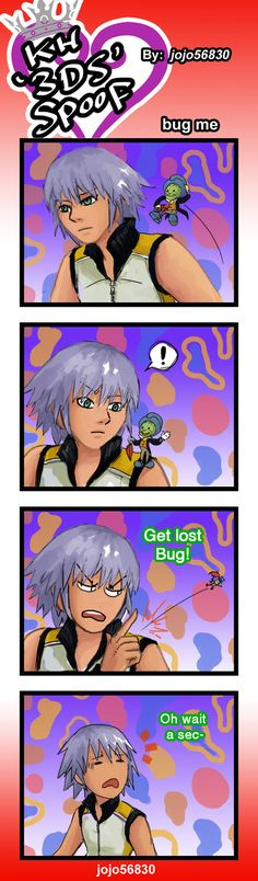 KH 3Ds Spoof: Bug me by jojo56830.deviantart.com on @DeviantArt