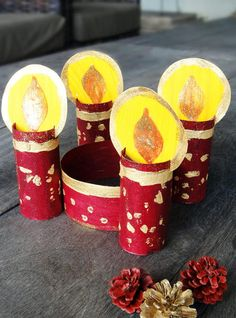 Toilet Paper Roll Christmas Crown | This Christmas craft is the perfect way to celebrate advent!