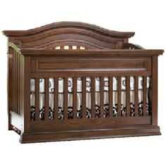 Dolce Babi Maximo Convertible Crib in Walnut