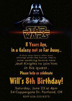 Star Wars Invitations Free Printable Google Search Kaden S