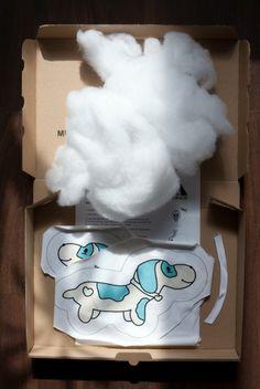 """""""Dachshund"""" Nähpaket Formkissen, Hund, türkis von #ASTROKATZE #Dackel #Dachshund #DIY #Sewingset #hund #dog"""