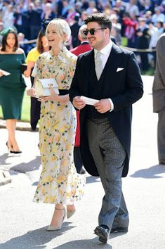 Carey Mulligan & Marcus Mumford @ Royal Wedding