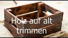 Timber effect - Coffee vinegar steel wool - Weathered wood - D . Diy Décoration, Easy Diy, Decor Crafts, Wood Crafts, Weather Wood Diy, Seasoned Wood, Table Vintage, Aging Wood, Steel Wool