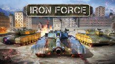 Iron Force iOS game. Join the online tank battles to fight with other players. #TankGame