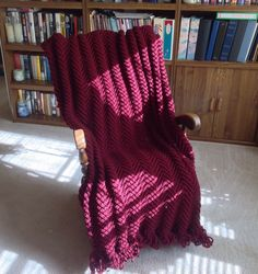 A personal favorite from my Etsy shop https://www.etsy.com/listing/214936707/new-bordeaux-wine-color-afghanthrow-hand