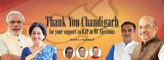 #BJP4Chandigarh, #Go4BJP, #CorePR