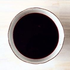 Soaked black Rice