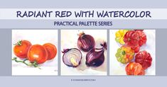 New on-demand class Radiant Red with Watercolor is published and available on Skillshare! If you want to better understand how to choose watercolor pigments red ones in particular what properties to look for how many you might need how to use reds to show three-dimensional objects on a flat sheet of paper this class is for you. In the demonstrations I will show how to mix and paint juicy radiant red without making it dull or muddy. . . . . #tummyrubbstudio #paintingfun #danielsmithartistsmateri Figure Sketching, Three Dimensional, Objects, Watercolor, Flat, Studio, Red, Painting, Pen And Wash