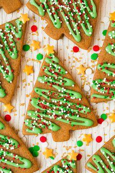 Gingerbread Cookies - Cooking Classy #icing | #sprinkles