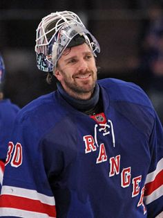 The hottest guys of the NHL. Henrik Lundqvist, New York Rangers #NHL