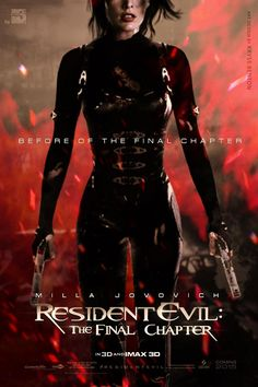 Resident Evil The Final Chapter (2016) Stars: Wentworth Miller, Milla Jovovich, Sienna Guillory