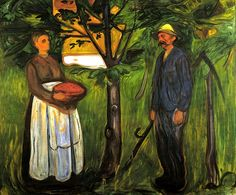 Edvard Munch - Fertility II 1902