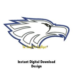 Hey, I found this really awesome Etsy listing at https://www.etsy.com/listing/160337940/dd-eagle-applique-machine-embroidery