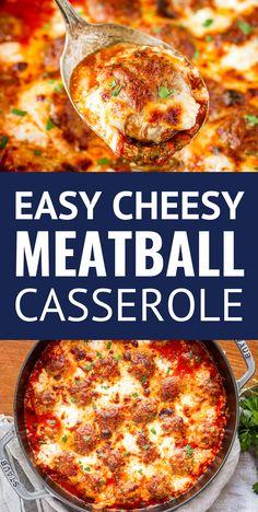 Easy Casserole Recipes, Casserole Dishes, Easy Dinner Recipes, Dinner Ideas, Breakfast Recipes, Italian Recipes, Beef Recipes, Cooking Recipes, Healthy Recipes