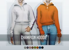 Tops: -The Sims 2 / AF Avine T-shirt / 18 colors -The Sims 2 / AF Wildfire Top / 9 colors -The Sims 2 / AF Champion Hoodie / 8 colors -The Sims 2 / AF Acne Studios Sweatshirt / 10 colors Bottoms: -The...