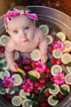 0ec843bd2f11 Baby Girl Photos, Baby Pictures, 6 Month Pictures, Toddler Photography,  Bath Photography