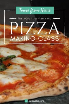 Join our very own Walks' chefs, live from their home in Rome, as they teaching you the tricks on how to make pizza in this fun and interactive online class. They will show you just how simple it is to make delicious pizza at home - a great activity for families, couples, and children alike. Check out our schedule.
