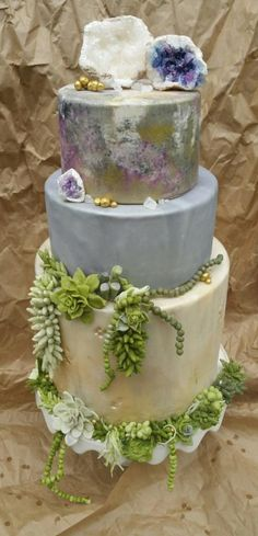 Succulent garden by Christine
