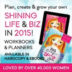 Win a Free Shining Life & Biz 2015 Workbook and grow your massage practice!