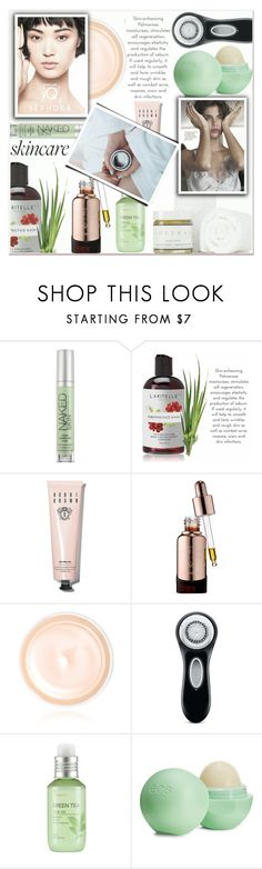 """""""Skincare"""" by kawtar-el ❤ liked on Polyvore featuring beauty, Urban Decay, Bobbi Brown Cosmetics, Josie Maran, Giorgio Armani, Clarisonic, SkinCare, The Face Shop and Eos"""