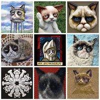 Fan Art of the Day: The Grumpy Cat Art Project