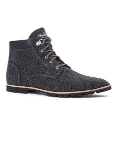 Woolrich® Tweed Beebe Leather Boot