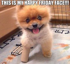 Friday face!