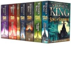 The Dark Tower Series. One of the best series I have ever read and the best ending of all time.