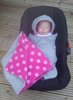 Car Seat Cosy Wrap Swaddle Blanket Baby Royal Blue By Siennachic
