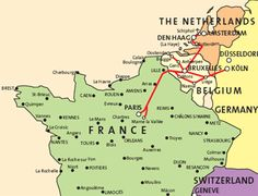 map of thalys routes in france belgium and the netherlands
