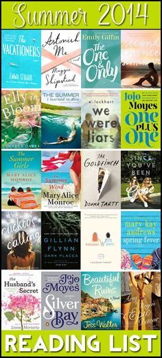 """Got a late start this summer... I'm behind!! I've only read The One and Only from this list. :-(     """"Summer 2014 Reading List"""""""