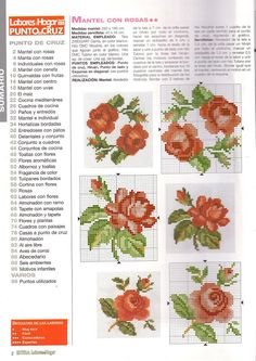 ru / Photo # 75 - different floral scheme - irisha-ira Xmas Cross Stitch, Cross Stitch Love, Cross Stitch Flowers, Counted Cross Stitch Patterns, Cross Stitch Charts, Cross Stitch Designs, Cross Stitching, Cross Stitch Embroidery, Roses And Violets
