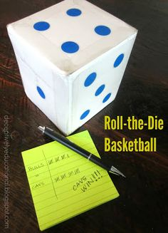 Relentlessly Fun, Deceptively Educational: Roll-the-Die Basketball