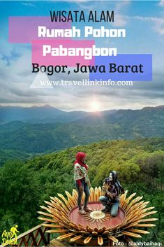 Wisata Alam Rumah Pohon Pabangbon  Wisata Alam Rumah Pohon Pabangbon Bogor menyajikan pemandangan alam Kabupaten Bogor dari ketinggian.  Rumah Pohon Pabangbon ini terletak di kawasan hutan pinus dan hutan penelitian meranti yang dikelola oleh Perhutani, jadi selain untuk wisata, kawasan tersebut juga bisa digunakan untuk sarana edukasi