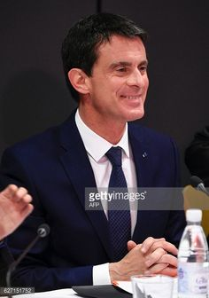 French Prime Minister Manuel Valls smiles on the occasion of an... #bealanathamoir: French Prime Minister Manuel Valls… #bealanathamoir