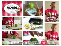 Apple Week Activities for the First Grade Classroom: Day 4 - The Inspired Apple