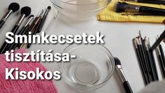 A sminkecsetek tisztításáról dióhéjban Tableware, Youtube, Blog, Dinnerware, Tablewares, Blogging, Dishes, Place Settings, Youtubers