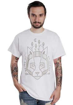 Being As An Ocean - Wolf White - T-Shirt - Offizieller Post Hardcore Merchandise Online Shop - Impericon.com