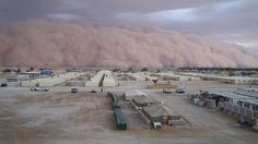 A huge dust storm, otherwise known as a haboob, swept across Arizona this weekend. The pictures, as usual, are pretty awesome. I have to see one of these IRL before I die. Pretty Cool, Nice, Dust Storm, End Of The World, Thunderstorms, Mother Nature, Bing Images, Arizona, Country Roads