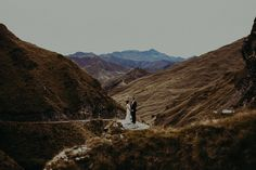 New Zealand mountain elopement captured by Forged in the North
