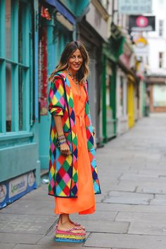 London Fashion Week Street Style Is All About The High-Low #refinery29